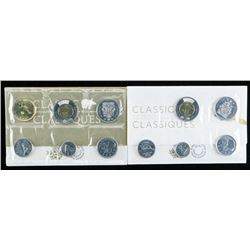 Group of (2) RCM Classic UNC Coin Sets -  2019-2018