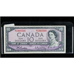 Bank of CANADA 1954 10.00 B/R