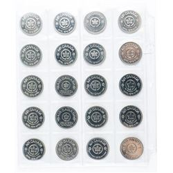 Group (20) Foreign Coins
