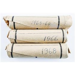 Estate Group (3) Rolls - Canada 1 Cent 1960's