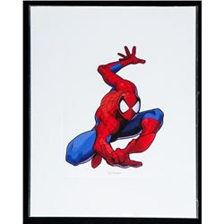 """SPIDERMAN Giclee 8x10"""" Matted"""