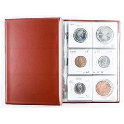 Coin Stock Book 18 Coins