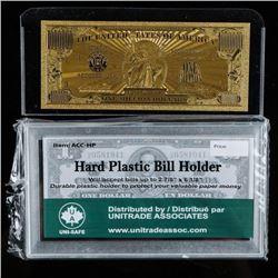 American Art Classics Gold Million Dollar  Bill Commemorative - Process used to create  the 24kt Gol