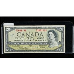 Bank of CANADA 1954 20.00 B/R
