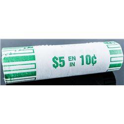 RCM Original Roll - 2018 Canada 10 Cents