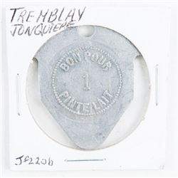 Tremblay Jonquiere Milk Token - Genuine