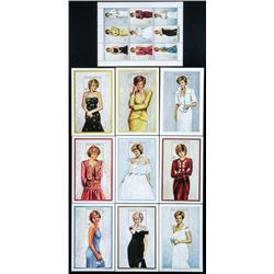 Diana Tribute Stamp Sheets, Mint (ER)