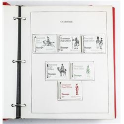 Estate Retail Stamp Booklet Collection,  Binder 'GUERNSEY'