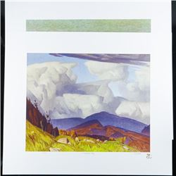 A.J. Casson (1898-1992) 'The White Series'  Classic Casson's 'Northern Vistar' LE/250  Worldwide wit
