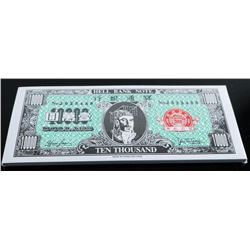 Hong Kong and Shanghai Bank Corp. Hell Bank  Note Original Sealed Brick x 50 1000.00 =  50,000.00