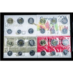 Group of (4) RCM UNC Coin Sets - 2015, 2016,  2018, 2019