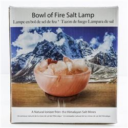 Himalayan Salt, Mines - Bowl of Fire Salt  Lamp 'NEW'