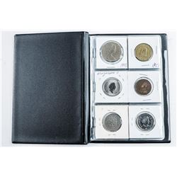 Starter Collection - (18) World Coins - Stock  Book