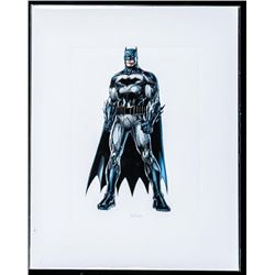 Super Heroes Action Giclee 8x10 Matted