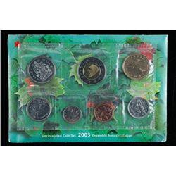 RCM Canada 2003 UNC Coin Set