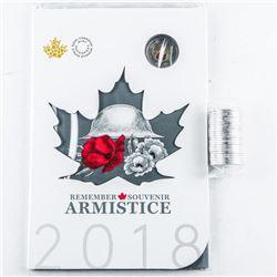 Remember D-DAY June 6, 1944 RCM 2018  Armistice Coin Folio, UNC, Plus Mint Roll  2018 Special Issue