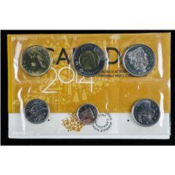 RCM Canada 2014 UNC Coin Set