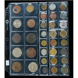 Group of (24) Foreign Coins