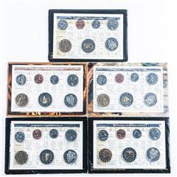 Group (5) RCM UNC Coin Sets 200's Series