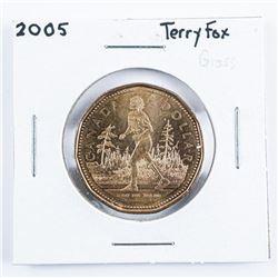 2005 Canada One Dollar Coin 'Terry Fox'