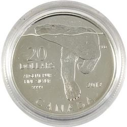 Sold Out - Royal Canadian Mint Polar Bear .9999 Fine Silver 20.00 Coin.