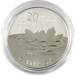 Sold Out - Royal Canadian Mint Farewell to the Penny .9999 Fine Silver 20.00 Coin.