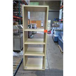 3-Tier Tall Wooden Display Case 30 W x 30 D x 85 H