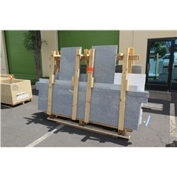 Granite Slabs in Crate (Some with Cut-Outs)