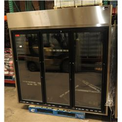 Hussmann HGM-3-TS Self-Contained Upright Cooler