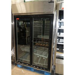 Hussmann HGL-2-TS Low-Temperature Self-Contained Merchandiser