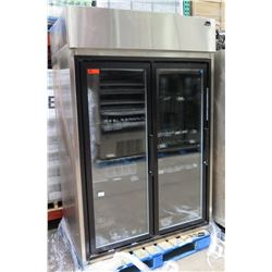 Hussmann HGM-2-TS Self-Contained Upright Cooler