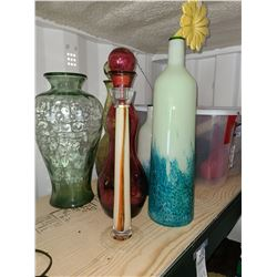 Glass Vases Cat A