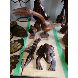 Wood Carvings Cat A