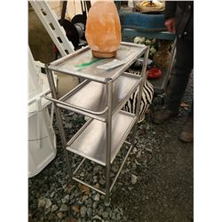 Meal rolling trolly and salt crystal Cat B