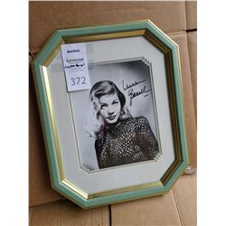 Lauren Bacall signed Cat B