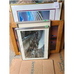 Assortment of Framed Art Cat B