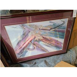 Framed Art Cat C