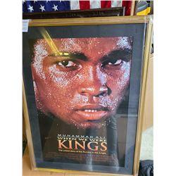 Muhammad Ali signed poster Cat  C