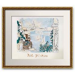 """Pablo Picasso- Lithograph on Arches Paper """"Paysage de Dinard"""""""