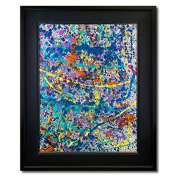 "Wyland, ""Reef 1"" Hand Signed Original Painting on Canvas with Letter of Authenticity."