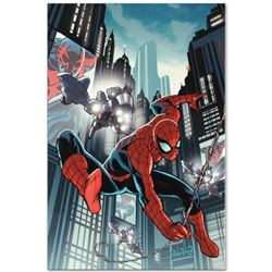 "Marvel Comics ""Timestorm 2009/2099: Spider-Man One-Shot #1"" Numbered Limited Edition Giclee on Canva"