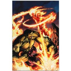 """Marvel Comics """"Incredible Hulk & The Human Torch: From the Marvel Vault #1"""" Numbered Limited Edition"""