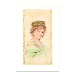 """Edna Hibel (1917-2014), """"Jean"""" Limited Edition Lithograph, Numbered and Hand Signed with Certificate"""