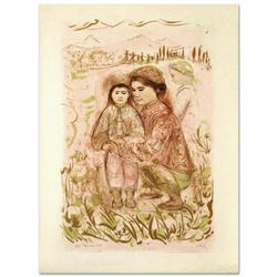Mrs. Hsu  Limited Edition Lithograph by Edna Hibel (1917-2014), Numbered and Hand Signed with Certi