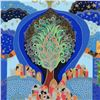"""Image 2 : Ilan Hasson, """"Tree of Life"""" Limited Edition Serigraph, Numbered and Hand Signed with Certificate of"""