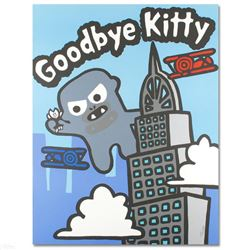 """""""Goodbye Kitty"""" Limited Edition Lithograph (32.5"""" x 42"""") by Todd Goldman, Numbered and Hand Signed w"""