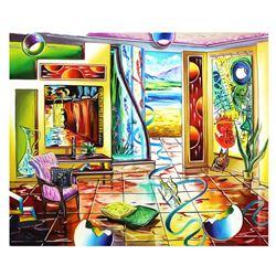 "Alexander Astahov- Original Oil on Canvas ""Lighthouse"""