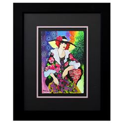 "Patricia Govezensky- Original Watercolor ""Paulina"""
