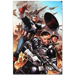 "Marvel Comics ""Secret Warriors #18"" Numbered Limited Edition Giclee on Canvas by Jim Cheung with COA"