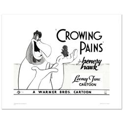 """Crowing Pains #2 (with Foghorn)"" Limited Edition Giclee from Warner Bros., Numbered with Hologram S"